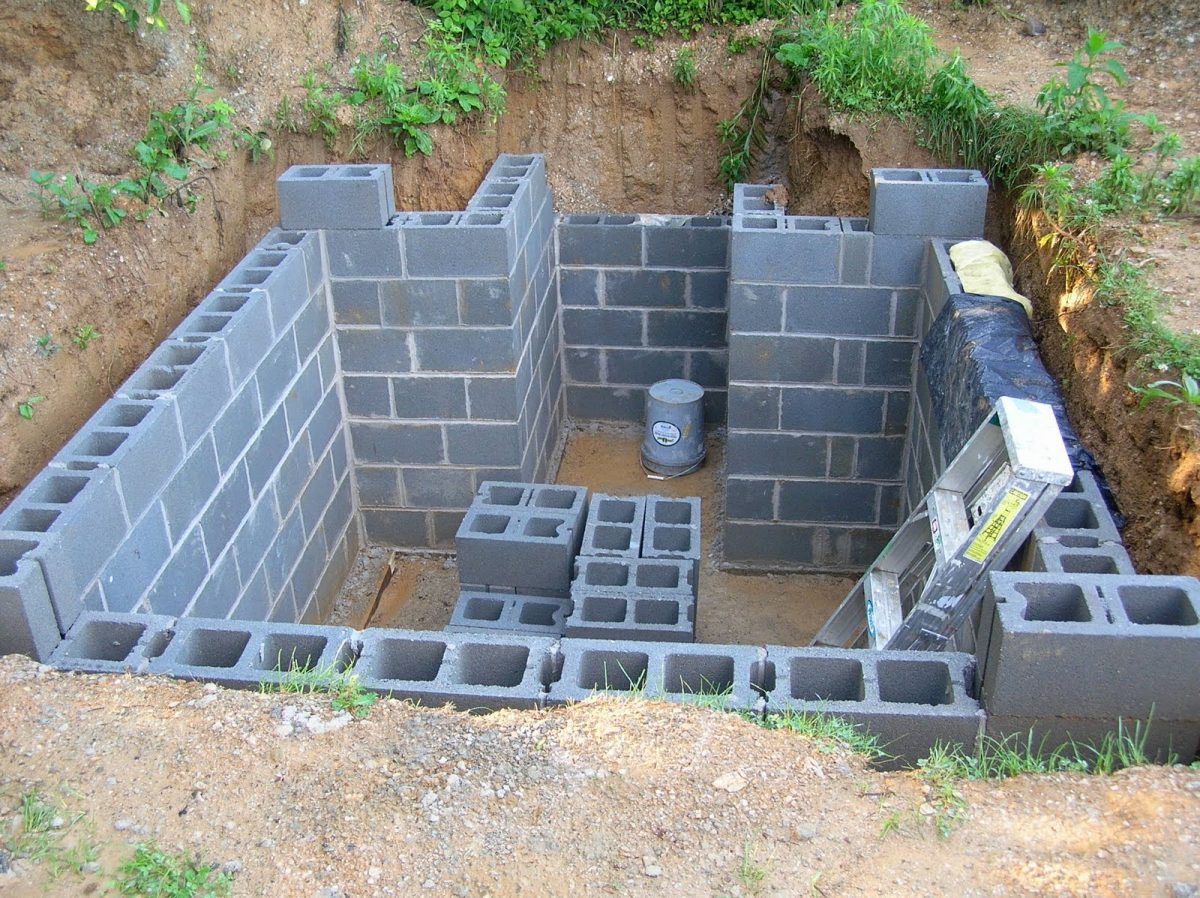 Подвал в земле под домом: выбираем технологию строительства